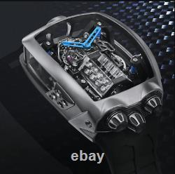 ALL-NEW Buggati engine watch 100% HANDCRAFTED Description
