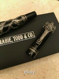 A Mabie Todd & Co Creation. The Cat Fountain Pen Hand Crafted Artisan
