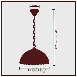 Beautiful unique Tiffany Style Pendant Lamp shades Hand Crafted Stained Glass UK