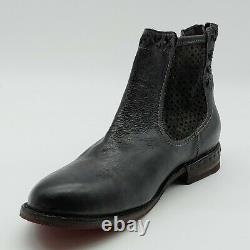 Bed stu Handcrafted Womans Ankle Boot Black Leather Cushioned Insole Sz 10 M NEW