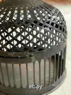 Bird Cage Iron Hand Crafted In Indiavintage Originalrare New Old Stock