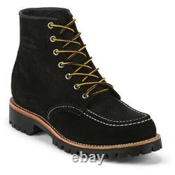 Chippewa Original men's 6 Lace-up Work Boots $249 Handcrafted USA 8.5E