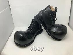 Clown Shoes Handcrafted Genuine Leather Adult Black Hightops