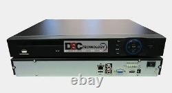 Dahua 16-Channel 480fps at 1080p 1U NVR 200Mbps, Up to 5MP, HDMI/VGA US SHIP