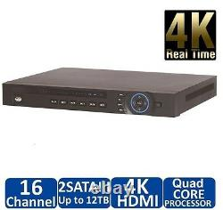 Dahua NVR4216 16 Channel Security Network Video Recorder 8MP IP Camera NVR