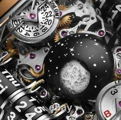 Handcrafted Retro Multi-dial Moon Watch