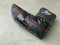 Itobori Handcrafted Putter in Black Boron Head Only