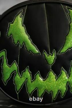 Love Pain & Stitches Black and Green Bad Company Handcrafted NEW FREE SHIP