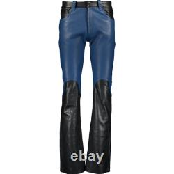 MAISON MARTIN MARGIELA Replica Handcrafted Leather Pants Trousers IT 48/UK 32