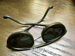 MA+ Handcrafted Sunglasses In Black Horn