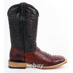 Men's Quincy Python Print Boots Square Toe Handcrafted Q8225718