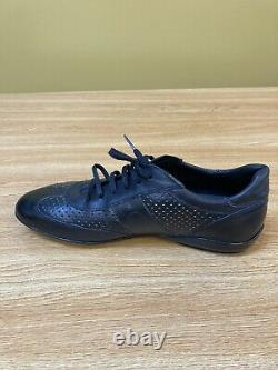 Mezlan Pagan Mens Size 9.5 Handcrafted Sneakers Black MPN92415 New Without Box