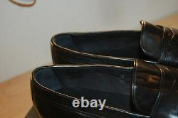 NIB Frye Aiden Penny Mens shoes Handcrafted Leather 10.5 M Made In Italy Black