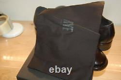 NIB Frye Wright Double Monk 8.5 med handcrafted $478 Black Made In Italy