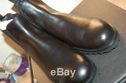 NU FRYE Men's Edwin Chelsea Boot 11 M US Boots Black $328 leather Handcrafted