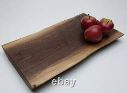 Natural Live Edge Black Walnut Cutting Board Hand Crafted from Bucks County PA