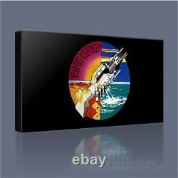 Pink Floyd Wish You Were Here Hand-crafted Iconic Canvas Art Print +free Upgrade