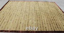 RSG27186 Exclusive Wool & Silk Hand Crafted Tibetan Rug 8' X 10' Made In Nepal