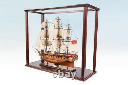 SEACRAFT GALLERY HMS Sirius Handcrafted Wooden Model Ship Boat 75cm First Fleet