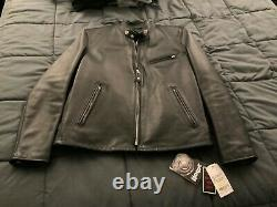 Schott Nyc Leather Jacket SteerHide US Model 141 Size 40 Brand New with Tags