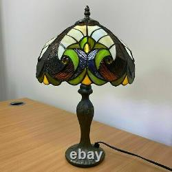 Tiffany New Style Table Lamp Handcrafted Shade Bedside Lamp Stained Glass UK