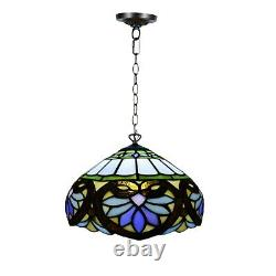 Unique Tiffany Style Pendant Lamp shades Hand Crafted 10 Stained Glass shade