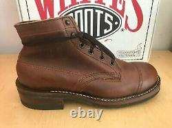 White's Boots Semi-Dress Cap-Toe 5 Boot(Hand Crafted, Rebuildable, USA 2 Color)
