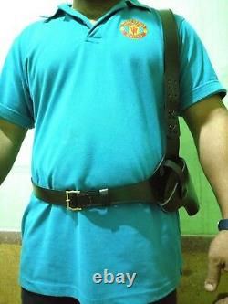 WoW Western Handcrafted Revolver pistol leather Holster with style and quality