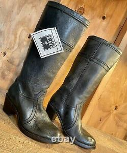 Womens FRYE JANE 77229 Tall Riding Boots Size 9 B NWOB Handcrafted In México